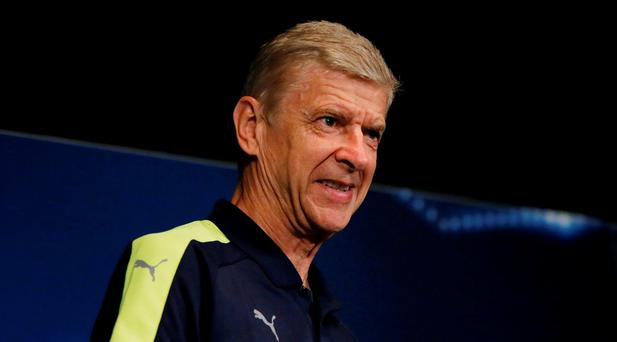 Arsenal manager Arsene Wenger during the press conference Reuters / Gonzalo Fuentes