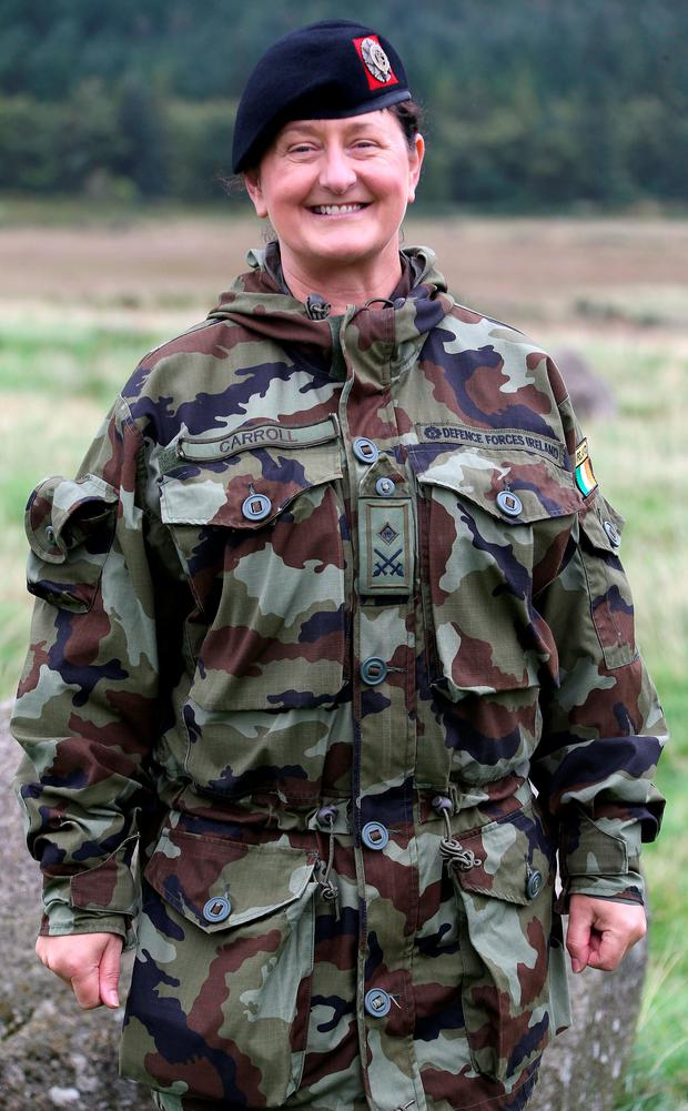 Lt. Col. Mary Carroll will lead the overseas mission. Picture Colin Keegan, Collins Dublin.