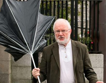 Frank Lunny was spared a sentence for the umbrella attack