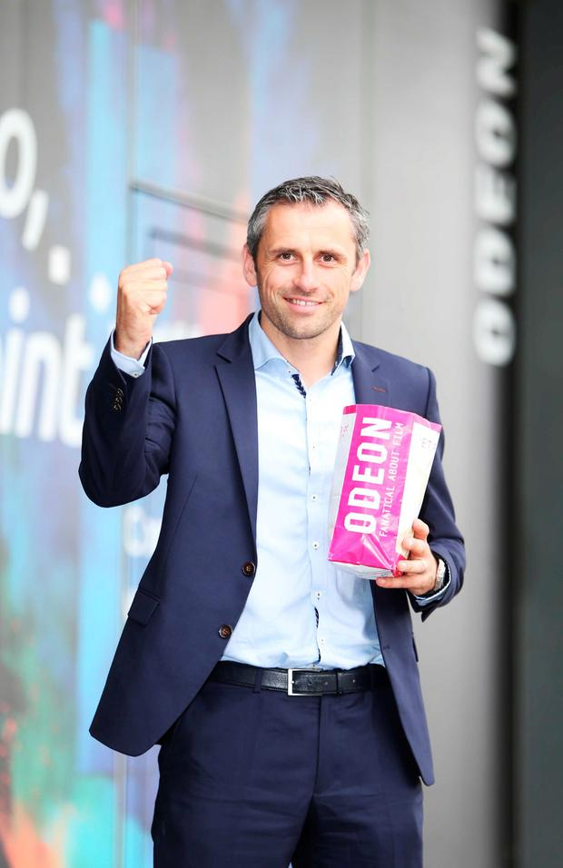 Alan Brogan announced special screenings of the eagerly anticipated All Ireland GAA Final between Dublin and Mayo in ODEON Cinemas nationwide on Sunday 18th September. Picture: Leon Farrell / Photocall Ireland