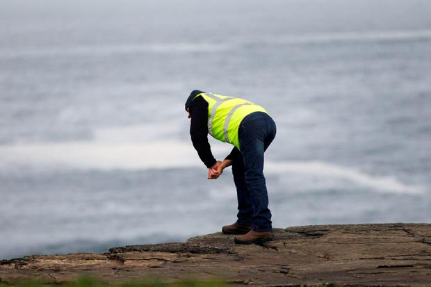 Search operation for a missing local man continues in Kilkee Co Clare Pic:Mark Condren