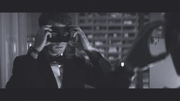 Jamie Dornan as Christian Grey in 50 Shades Darker