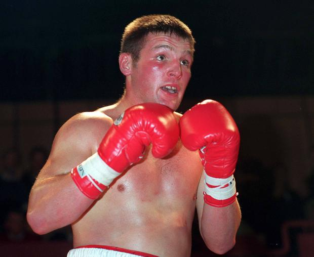 Cathal O'Grady is a former Olympic boxer and holds ten national titles and a European Junior Heavyweight title. He was diagnosed with mouth cancer in 2016. Ray Lohan/SPORTSFILE
