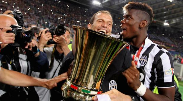 Paul Pogba left Juventus for Manchester United during the summer