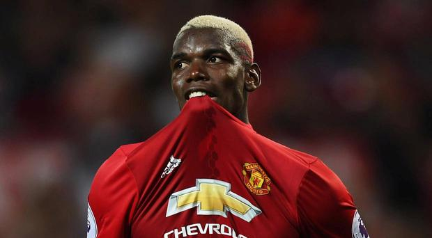 Paul Pogba has not yet performed for Manchester United