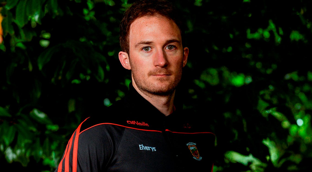 Mayo's Alan Dillon. Photo: Piaras Ó Mídheach/Sportsfile