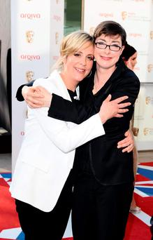 Double act: Mel Giedroyc (left) and Sue Perkins Picture: Ian West/PA