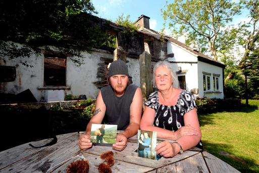 Crohan and Penny Pickard pictured at their home outside Castlecove in County Kerry Picture: Don MacMonagle