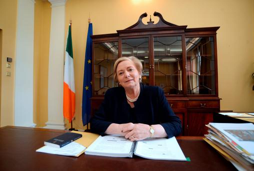 Extra funding: Justice Minister Frances Fitzgerald Picture: Caroline Quinn