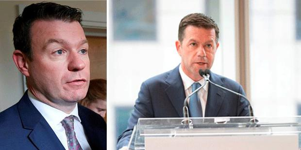 Alan Kelly TD (Left) and brother Declan (right)