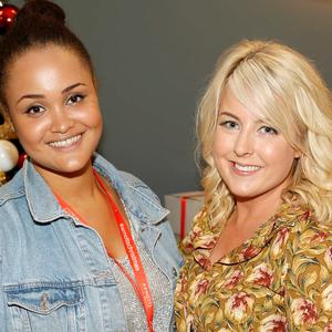 Claudia Gocoul and Rebecca Brady at the 'Gifted' by Arnotts media preview. Picture: Kieran Harnett
