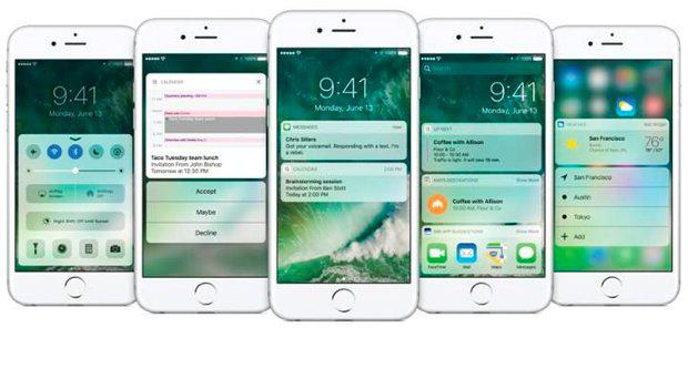 iOS 10 features lock screen widgets and no