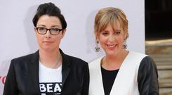 Sue Perkins and Mel Giedroyc have resigned from the Great British Bake Off. (Photo by Stuart C. Wilson/Getty Images)