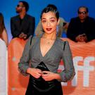 Ruth Negga arrives on the red carpet for the film