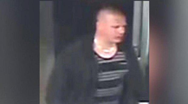 Police have released this CCTV image of the man they think attacked the pregnant woman Thames Valley Police