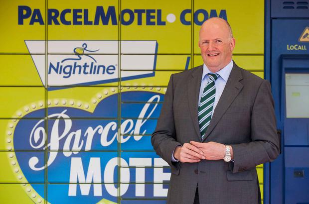 NO REPRO FEE: DUBLIN: 12.07.12: Nightline, Ireland's largest independent delivery service, today launched Parcel Motel - a brand new and innovative service for anyone who shops online. Pictured at the launch of Parcel Motel was John Tuohy, CEO, Nightline. Nightline Parcel Motel allows consumers to have their goods delivered to a location that is convenient for them to collect at any time of the day or night through a network of self-service parcel terminals. To find out more about the new service or to register for an account, visit www.parcelmotel.com. Picture Conor McCabe Photography.