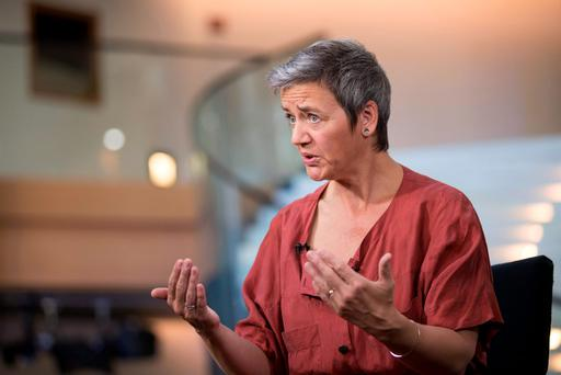 Margrethe Vestager, the competition commissioner of the European Commission Photo: Jasper Juinen/Bloomberg
