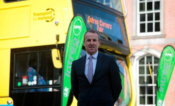 Ray Coyne, Dublin Bus CEO Photo: Gareth Chaney/Collins