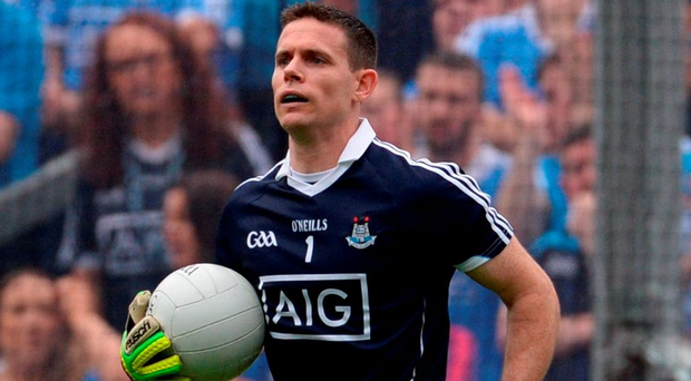 Stephen Cluxton's kick-outs will be under more scrutiny than normal in Sunday's final. Photo by Piaras Ó Mídheach/Sportsfile