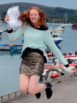 Holly Collins of Schull Community College Picture: Denis Boyle