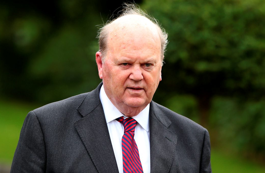 Michael Noonan has long opposed a full-blown inquiry into Nama and Project Eagle Picture: Damien Eagers