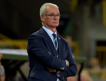 Leicester City manager Claudio Ranieri. Photo: Eric Vidal/Reuters