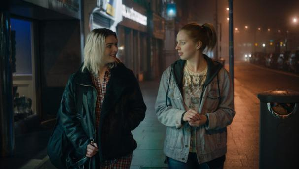Sheana Kerslake (right) in A Date for Mad Mary. Photo: Element Pictures.