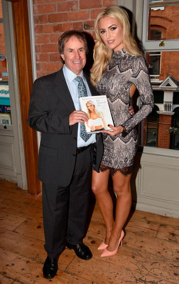 Chris de Burgh and Rosanna Davison launch her Eat Yourself Fit book at Rustic Stone