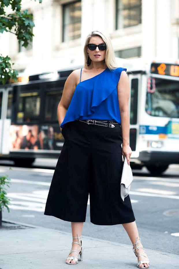 Louise O'Reilly wearing all Penneys at New York Fashion Week. Picture: Eliza Hoyland for Style Me Curvy.net