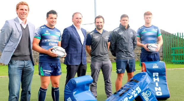 Connacht rugby announces a new deal with Rhino Rugby