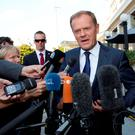 European Council President Donald Tusk (AP Photo/Virginia Mayo)