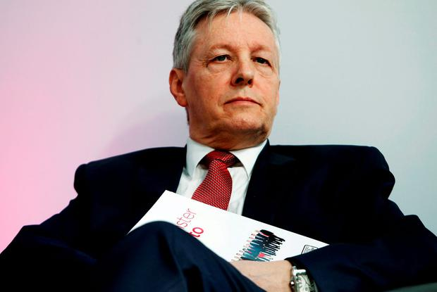 Former DUP leader Peter Robinson. Photo: Brian Lawless/PA Wire