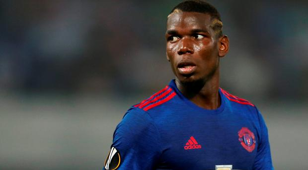 Manchester United's Paul Pogba. Photo: Action Images via Reuters
