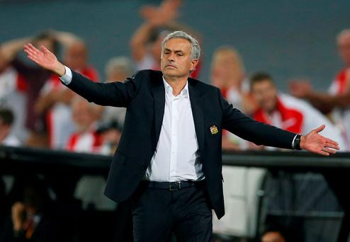 Manchester United manager Jose Mourinho says there are no quick fixes for his side after their defeat to Feyenoord. Action Images via Reuters / Matthew Childs Livepic