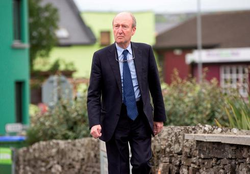 Minister Shane Ross. Pic:Mark Condren