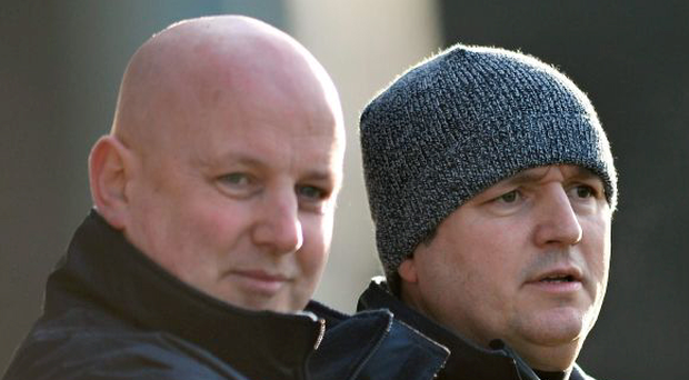 Mayo's former management team of Pat Holmes and Noel Connelly. Picture: Ray Ryan / SPORTSFILE...ABC