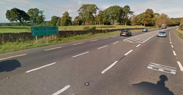 The accident happened on the N11 between Enniscorthy and Wexford. Picture: Google Maps