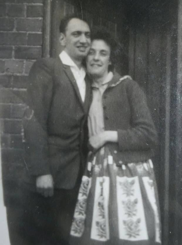Their son James Reginald Leary and Annie Rodgers