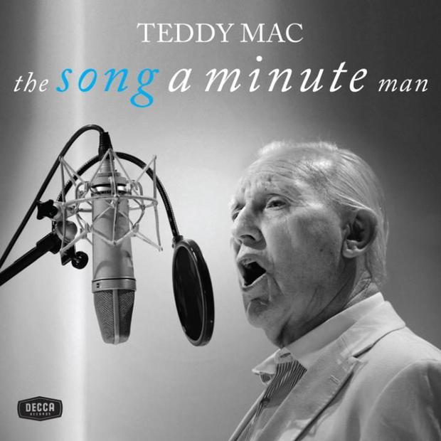 Teddy Mac's album cover.