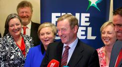 TD's at the Fine Gael think in at the Keadeen Hotel. Picture credit; Damien Eagers
