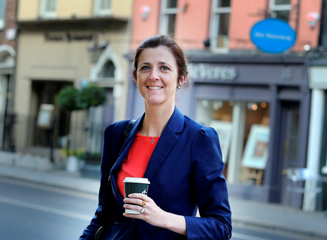 Serving the people: Michelle Mulherin. Pic: Tom Burke