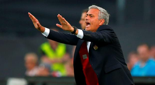 Jose Mourinho has demanded more from his players. Photo: AP