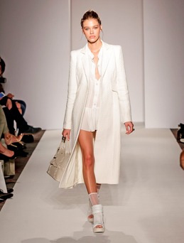 Paul Costelloe unveiled his new collection at London Fashion Week Picture: Debbie Bragg/Paul Costelloe