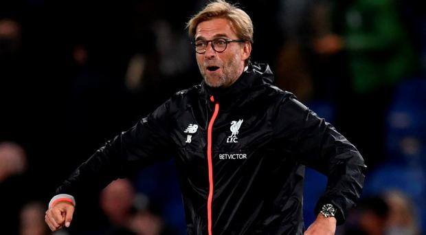 Liverpool manager Jurgen Klopp celebrates after the game Reuters / Dylan Martinez