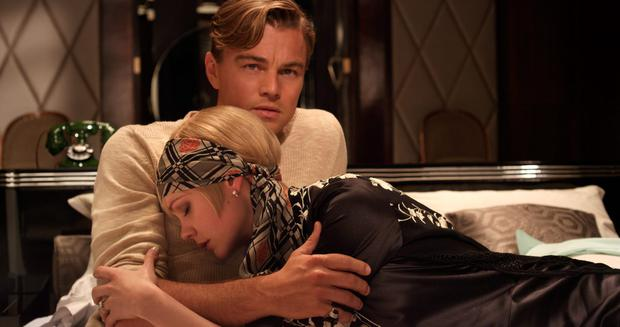 Leonardo di Caprio and Carey Mulligan in 'The Great Gatsby', 2013.