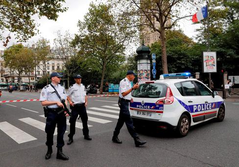 French police Photo: REUTERS