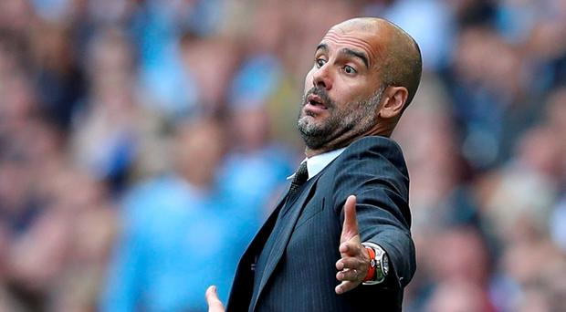 Manchester City manager Pep Guardiola Reuters / Phil Noble