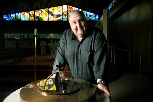 Modern: Fr Joe McDonald of St Matthew's Church, Ballyfermot, wants to make the Church more welcoming. Photo: Tony Gavin