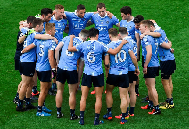 'Jim Gavin's Dublin are a rebuke both to that era of Dublin football and to the negative philosophy which prevails today in too many other counties'. Photo: Sportsfile
