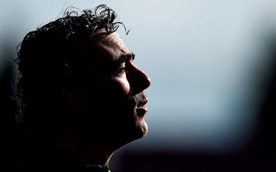 Donegal manager Jim McGuinness. Photo: Brendan Moran / Sportsfile